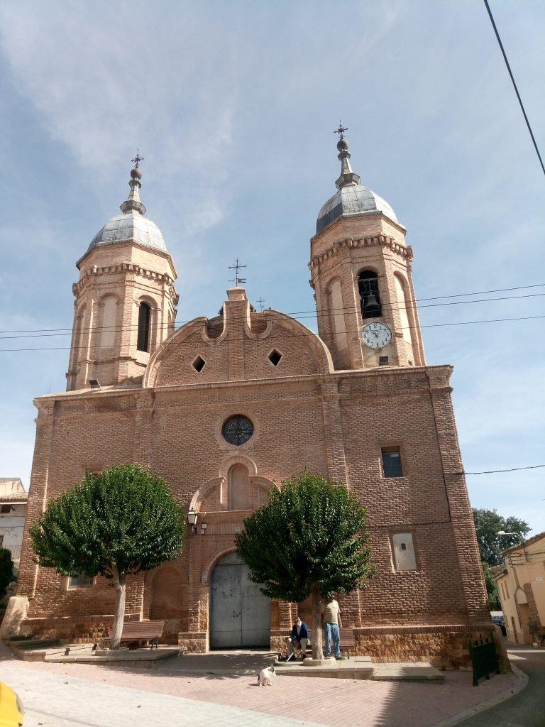 Iglesia de la Santisima Trinidad. Alcalá de Ebro.