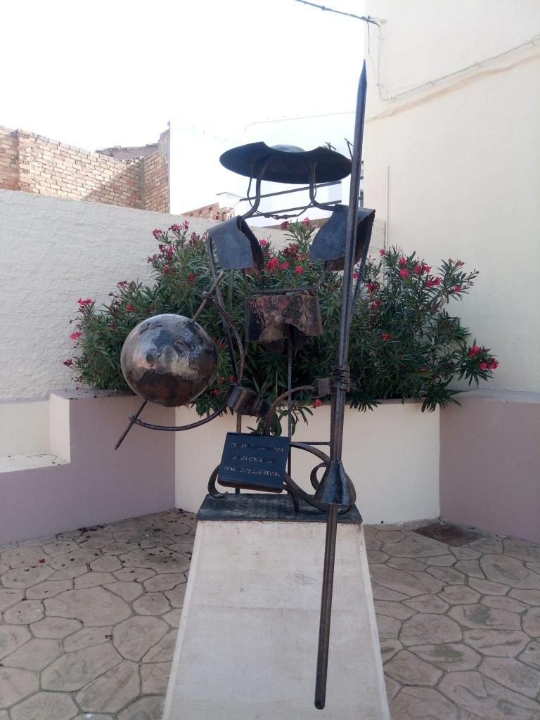 Monumento cervantino, Alcalá de Ebro
