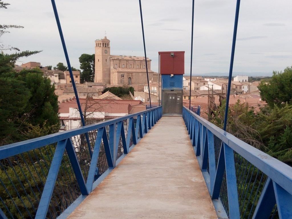 Puente sobre el Canal Imperial. Gallur