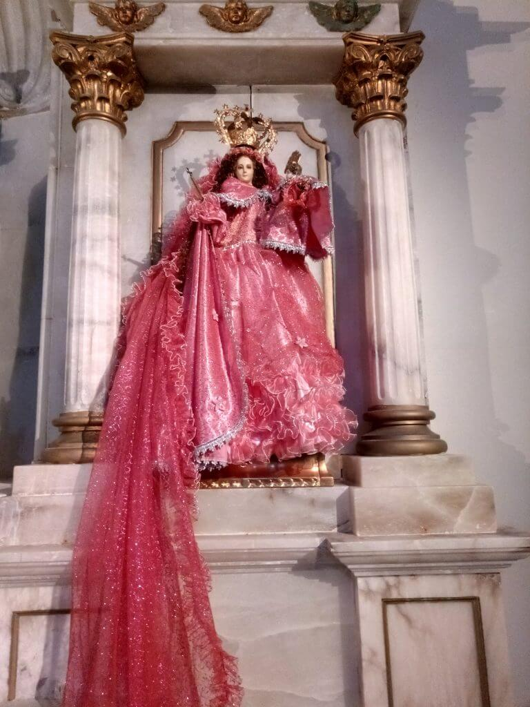 Alfaro. Virgen muy venerada por la comunidad ecuatoriana
