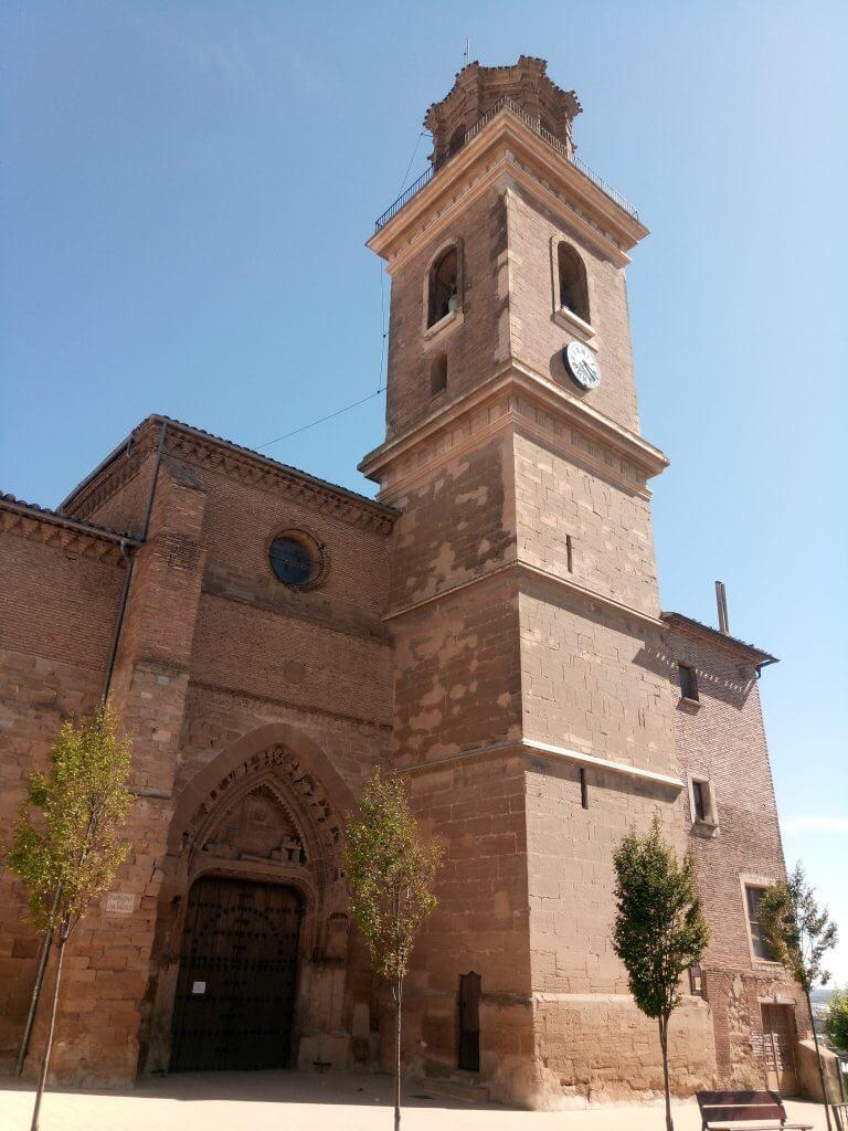 Iglesia de San Andrés en Calahorra