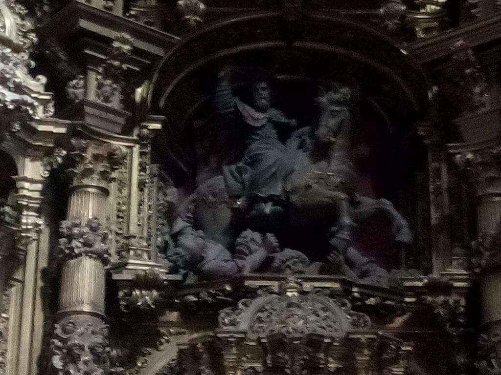Santiago apóstol haciendo amigos
