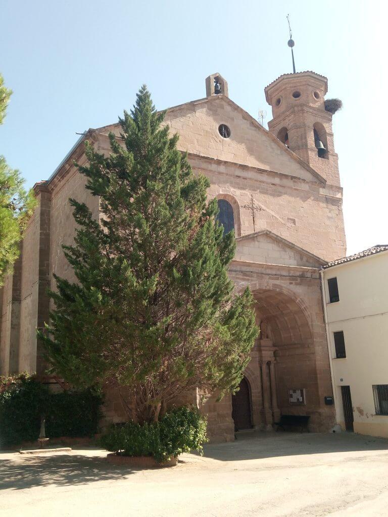 Iglesia parroquial de Alcanadre