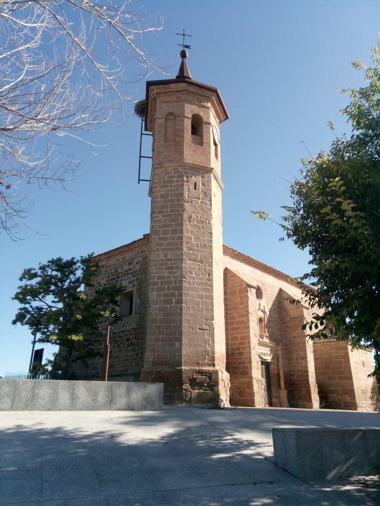 Iglesia del Salvador, en Arrúbal