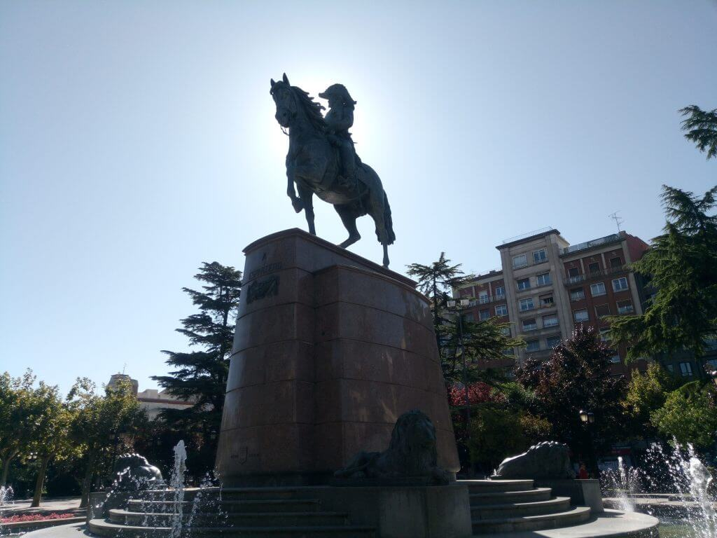 Espartero, Logroño
