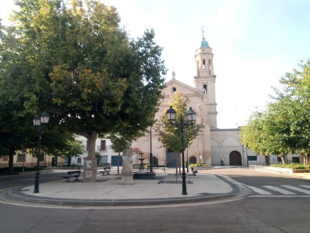 Plaza e iglesia de la Cartuja de la Concepción, o Cartuja Baja